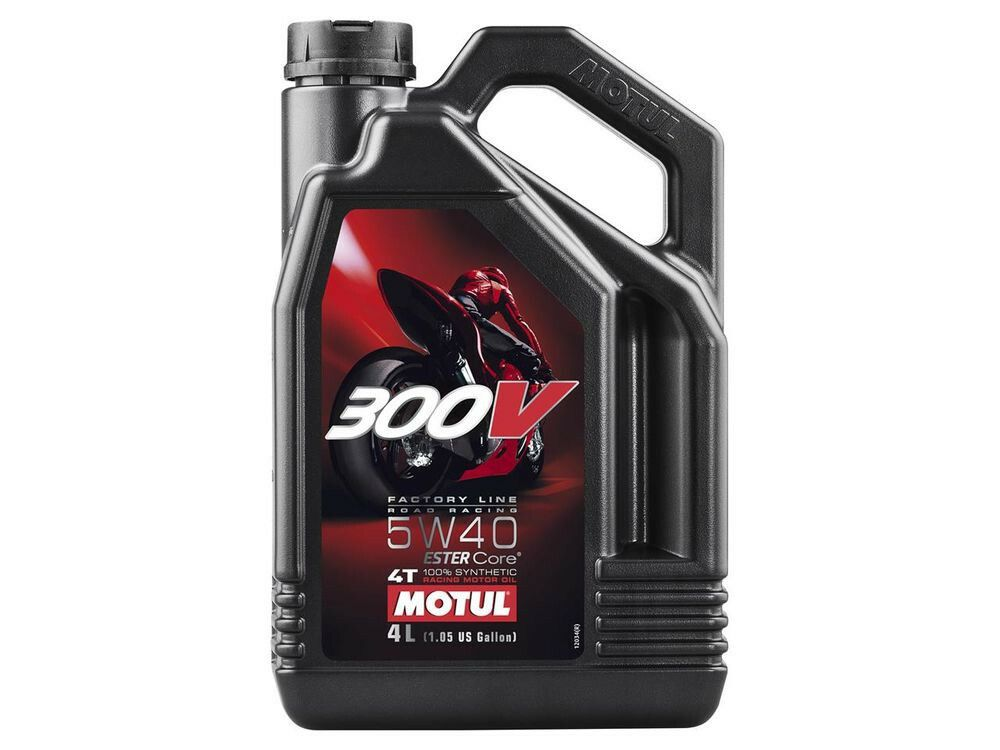 motul 300v 5w40 4t 4l outlaw racing crossmotor. Black Bedroom Furniture Sets. Home Design Ideas
