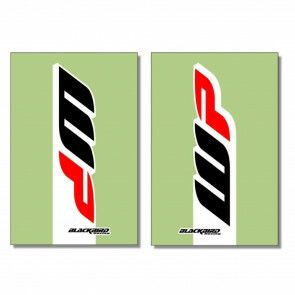 Blackbird Racing Voorvorkstickers WP 2017